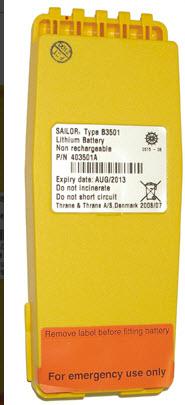 NödBatteri Li-Ion SP3501