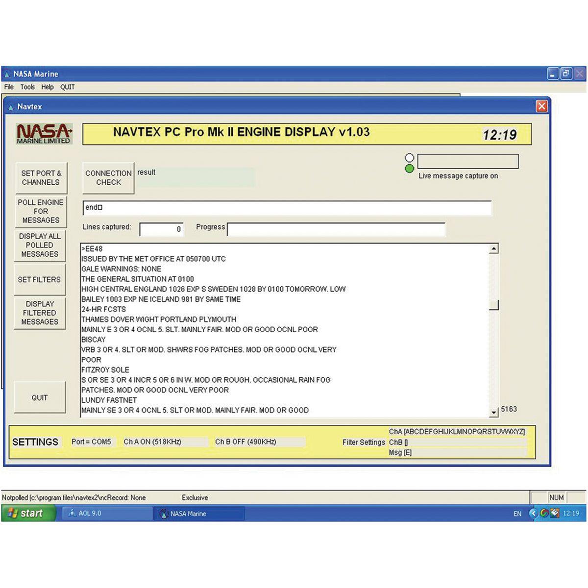 Marinwebben.se - PC-Navtex-Pro USB