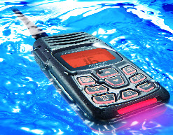 Standard Horizon HX300E VHF med USB-laddning