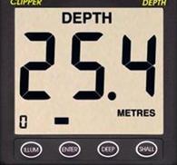 NASA Clipper Depth display
