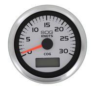 Logg GPS 30 knop Argent